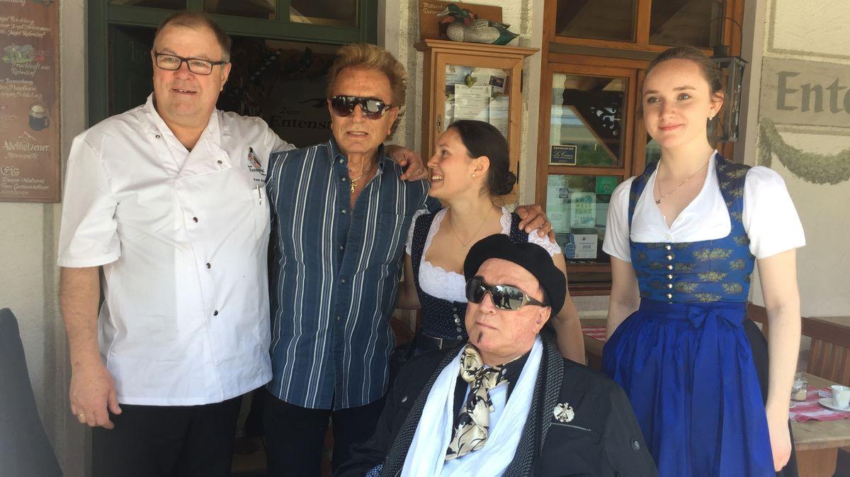 Besuch bei der Familie von Entenwirt Peter Schrödl in Törwang im Jahr 2019