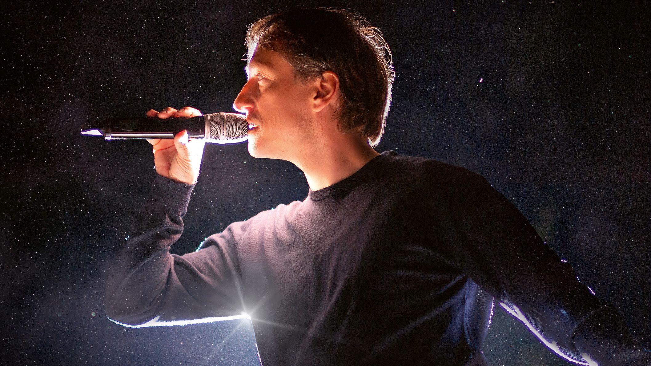 Der Stimmentänzer Martin Ulrich alias Martin O.