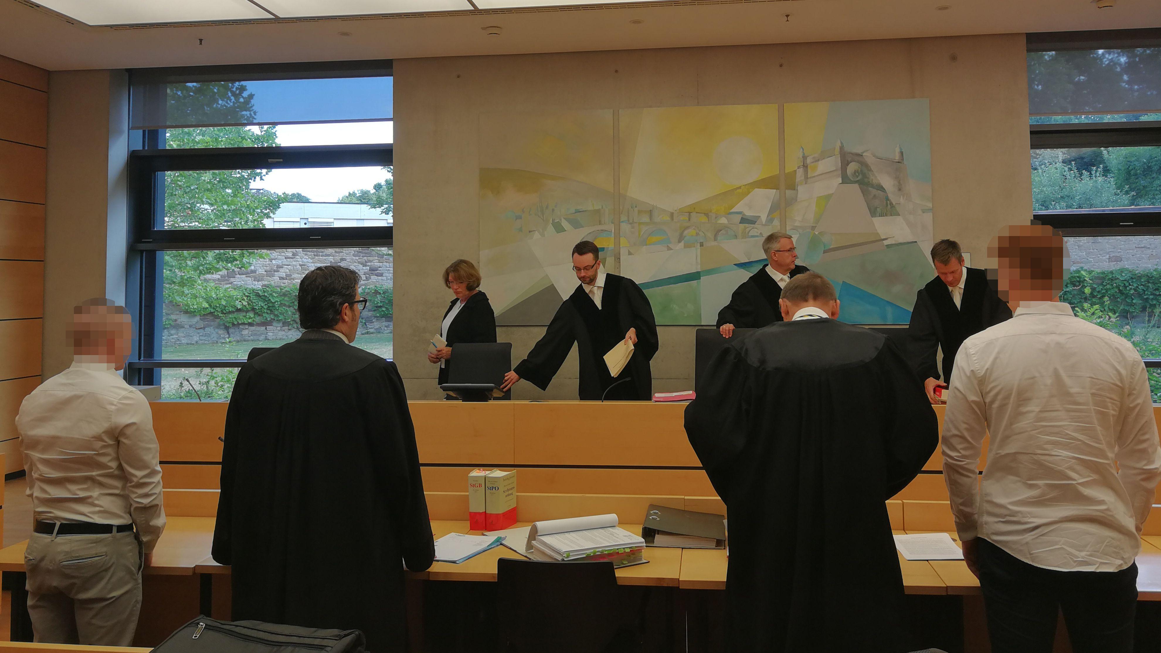 Urteil gegen Getränkemarkt-Räuber