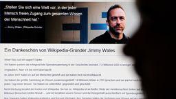Wikipedia-Gründer Jimmy Wales | Bild:dpa