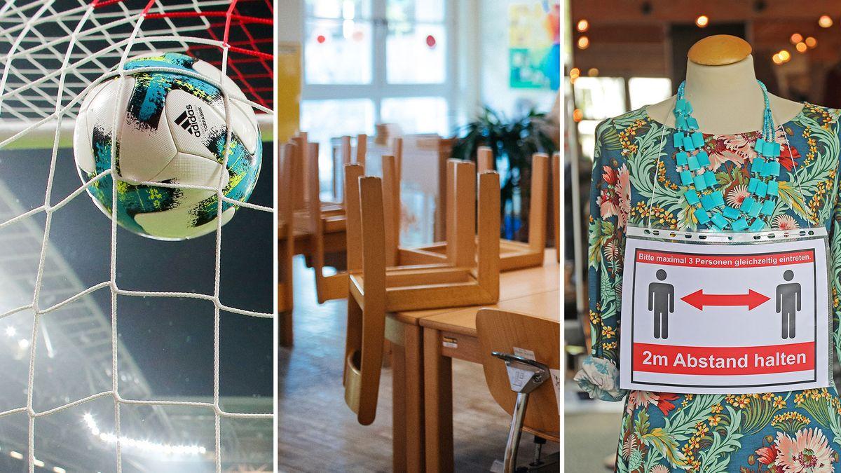 Fußball, Kitas, Läden: Bund und Länder haben sich auf Lockerungen verständigt