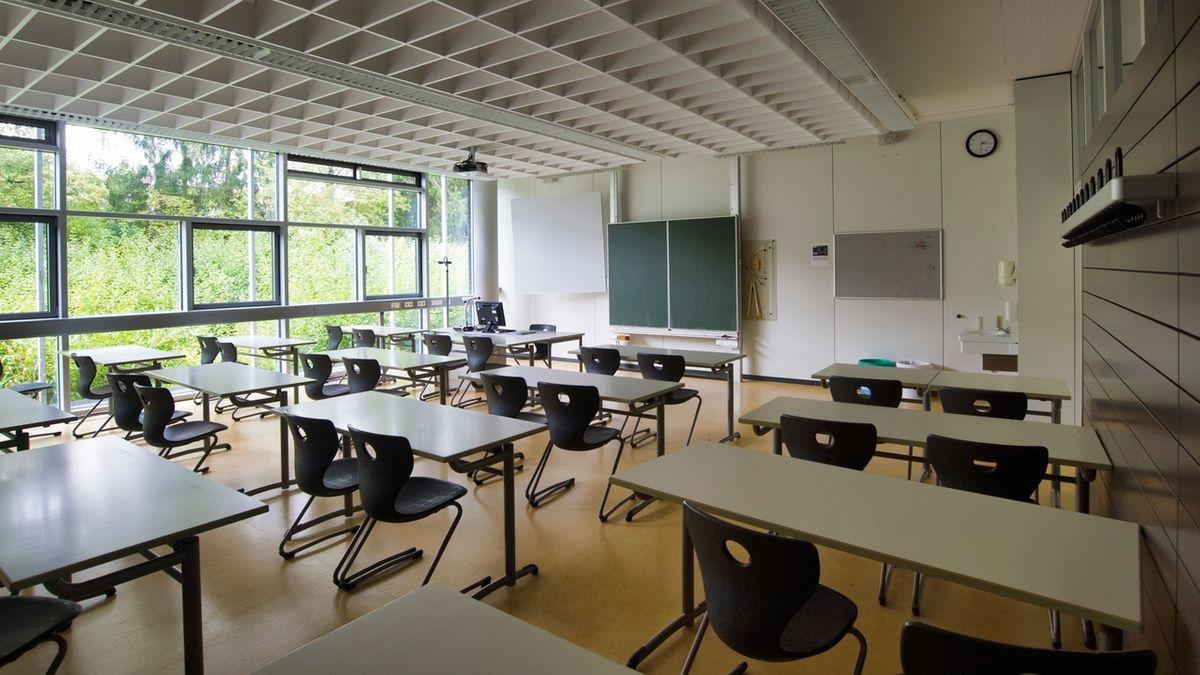 In Klassenzimmern sollte eine saubere Luftqualität bestehen.