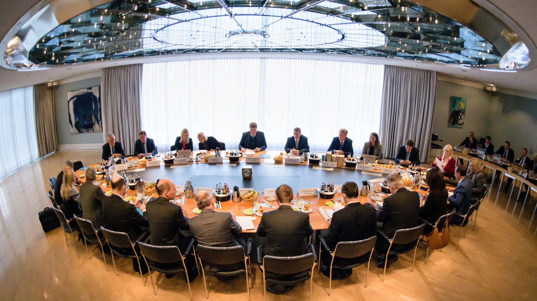Kabinettssitzung in der bayerischen Staatskanzlei (Archiv)