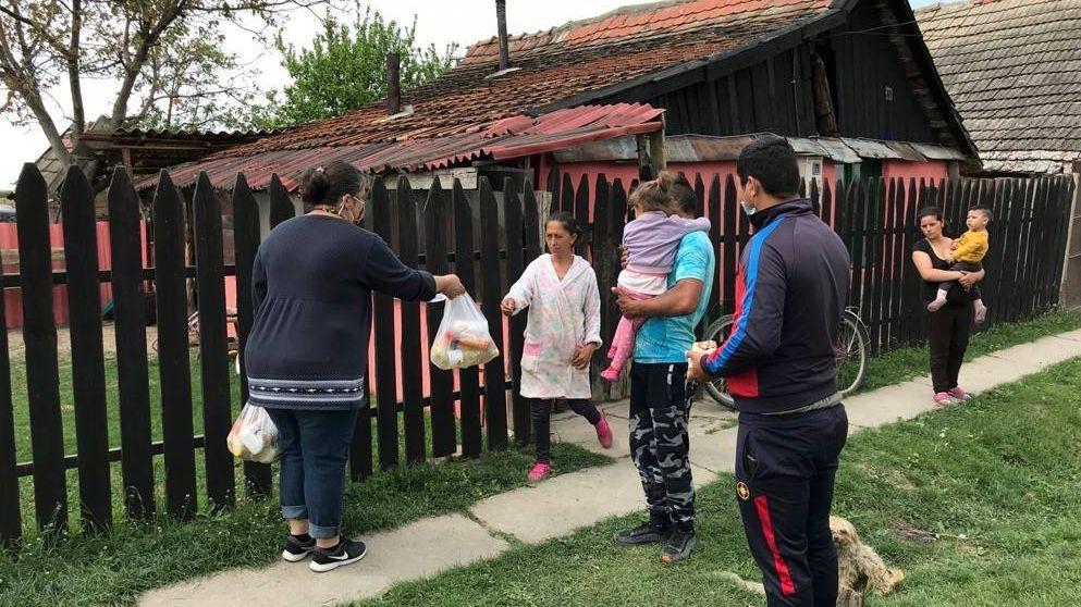 Humanitäre Hilfe in Rumänien