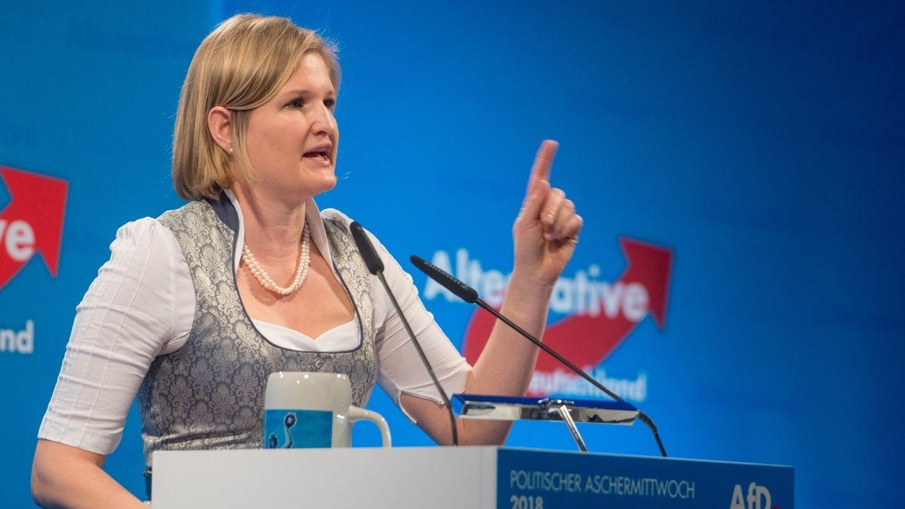 AfD-Landtagsfraktionschefin Katrin Ebner-Steiner