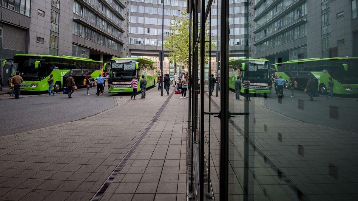 Zentraler Omnibusbahnhof in Nürnberg