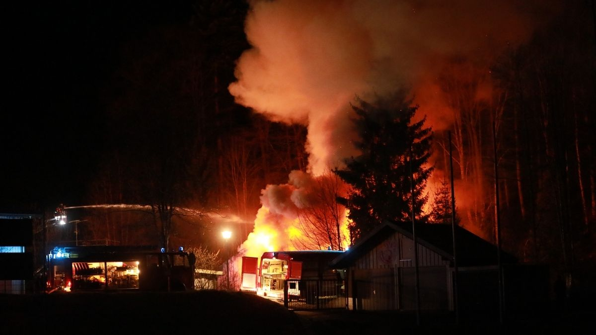 Wohnhausbrand in Weitnau.
