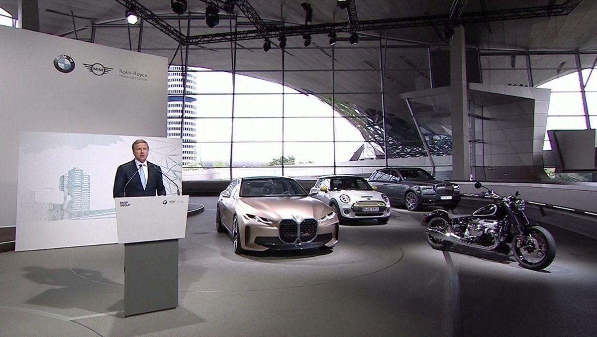 BMW hat bei seiner Hauptversammlung heute große Umsatzeinbrüche durch die Coronkrise verkündet. Eine Dividende für die Aktionäre soll es aber trotzdem geben.