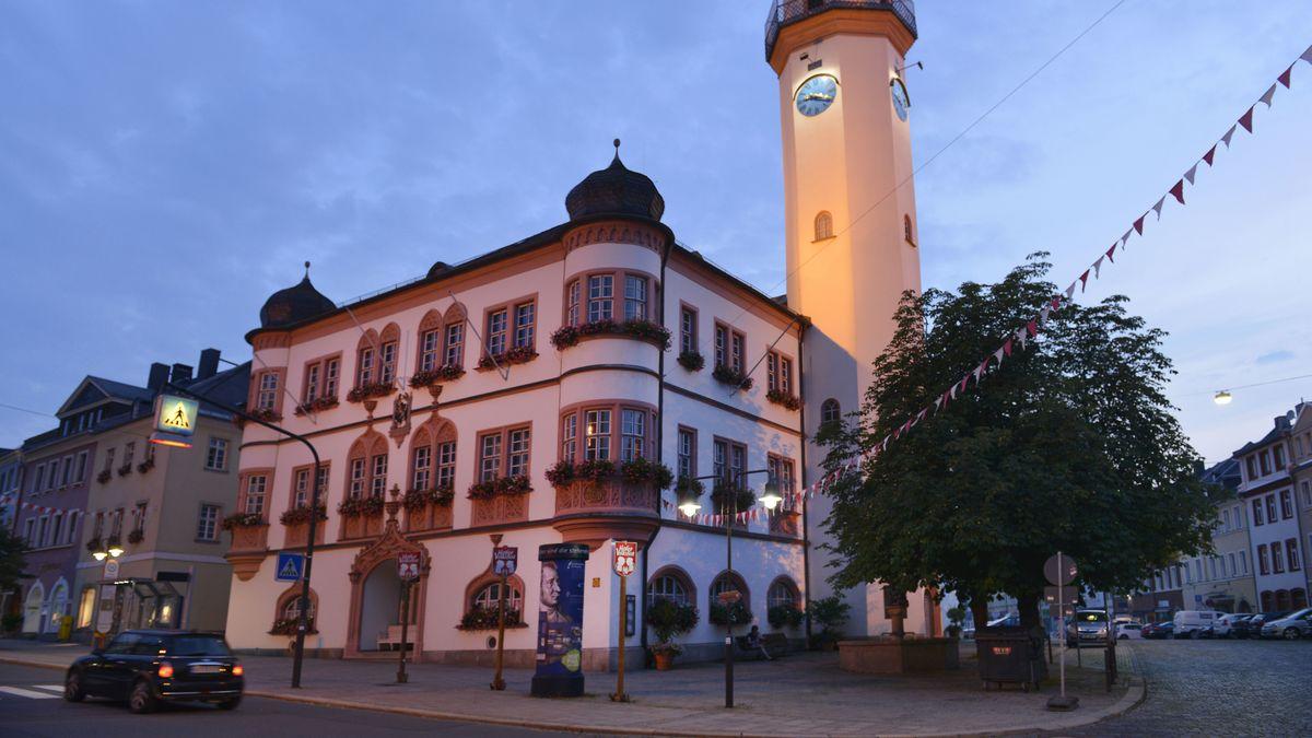 Das Hofer Rathaus