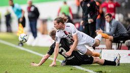 Spielszene Viktoria Köln - Würzburger Kickers   Bild:picture-alliance/dpa
