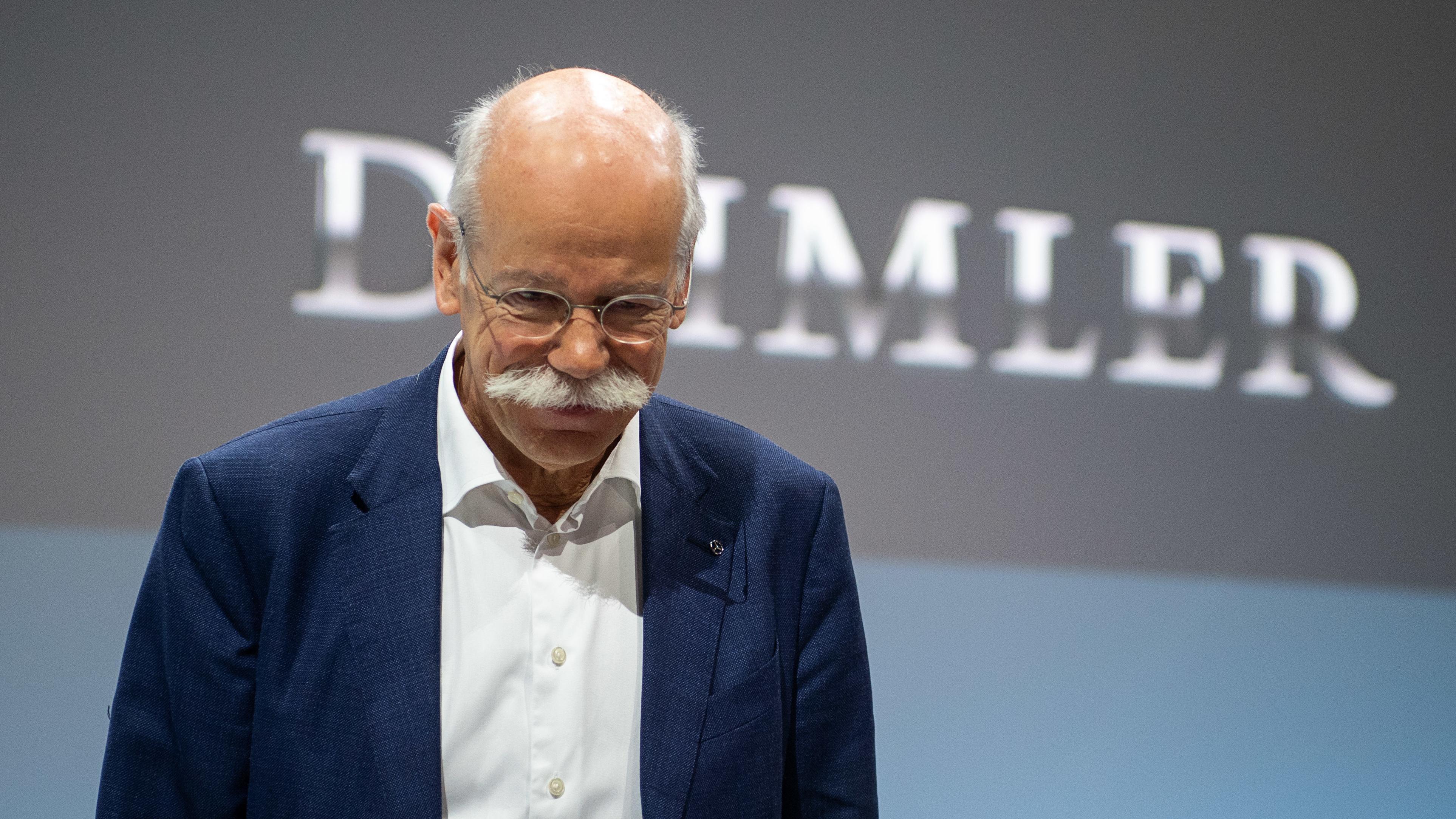 Dieter Zetsche, Vorstandsvorsitzender der Daimler AG