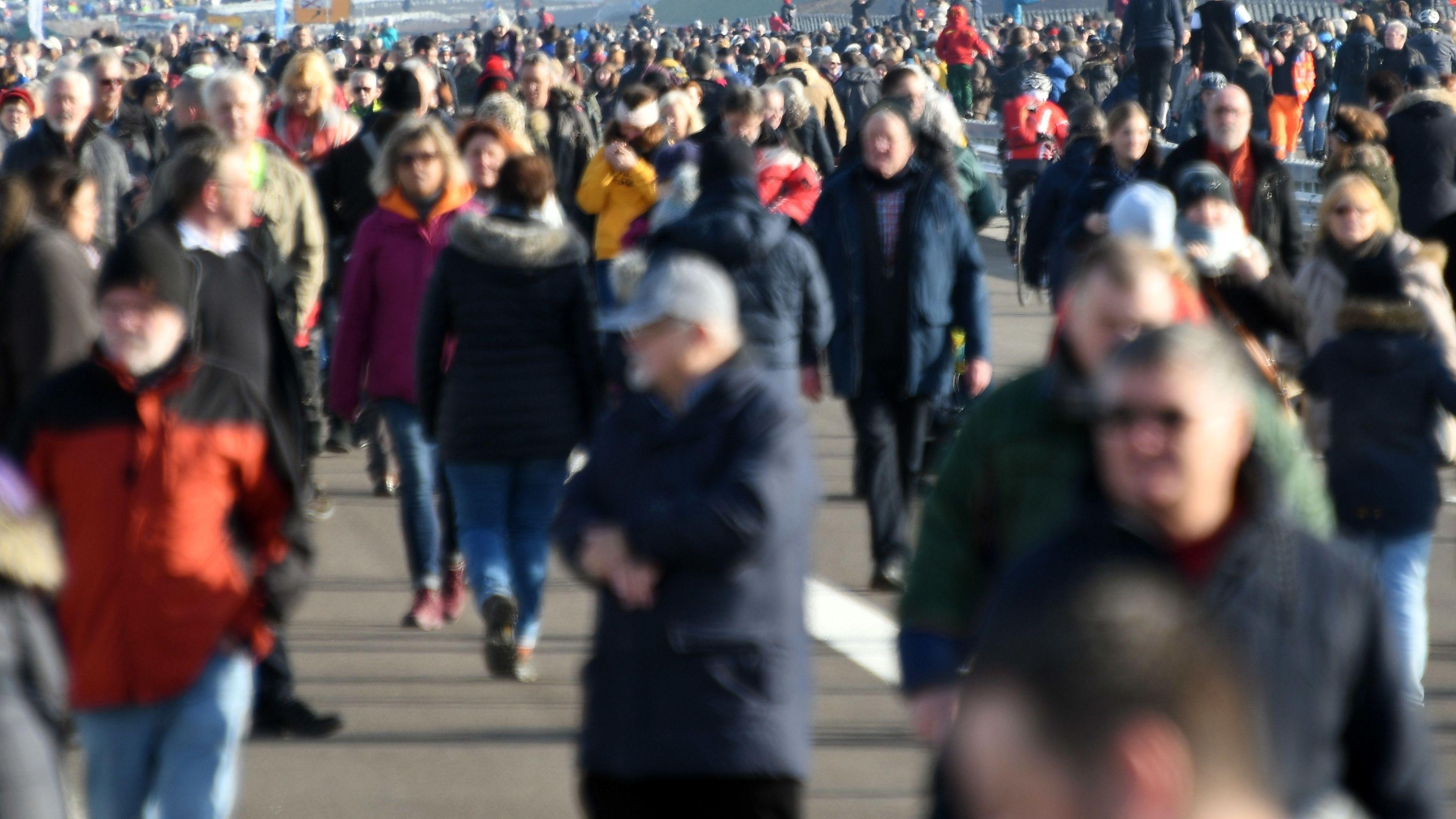 Bevölkerungswachstum vor allem in den größeren Städten