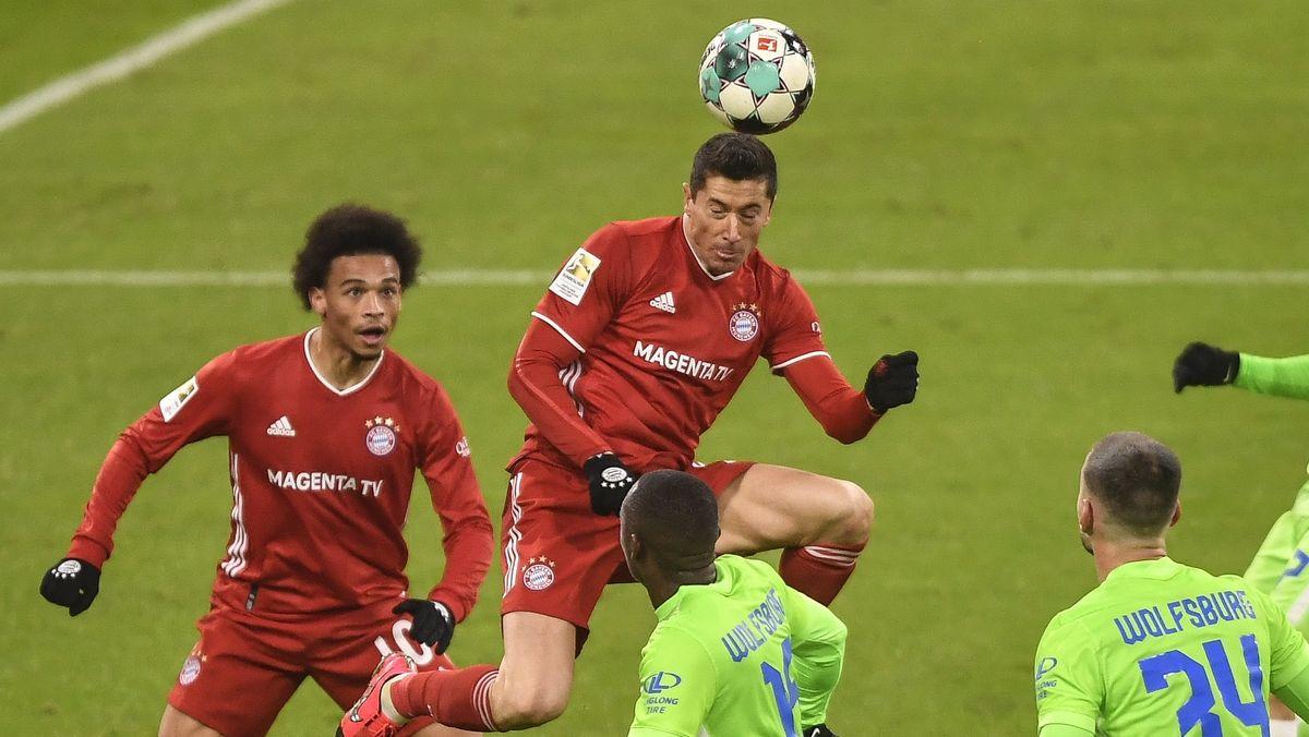 Spielszene FC Bayern München - VfL Wolfsburg