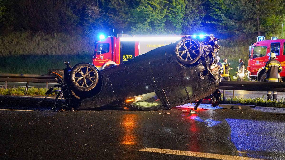 Tödlicher Autounfall bei Wernberg-Köblitz