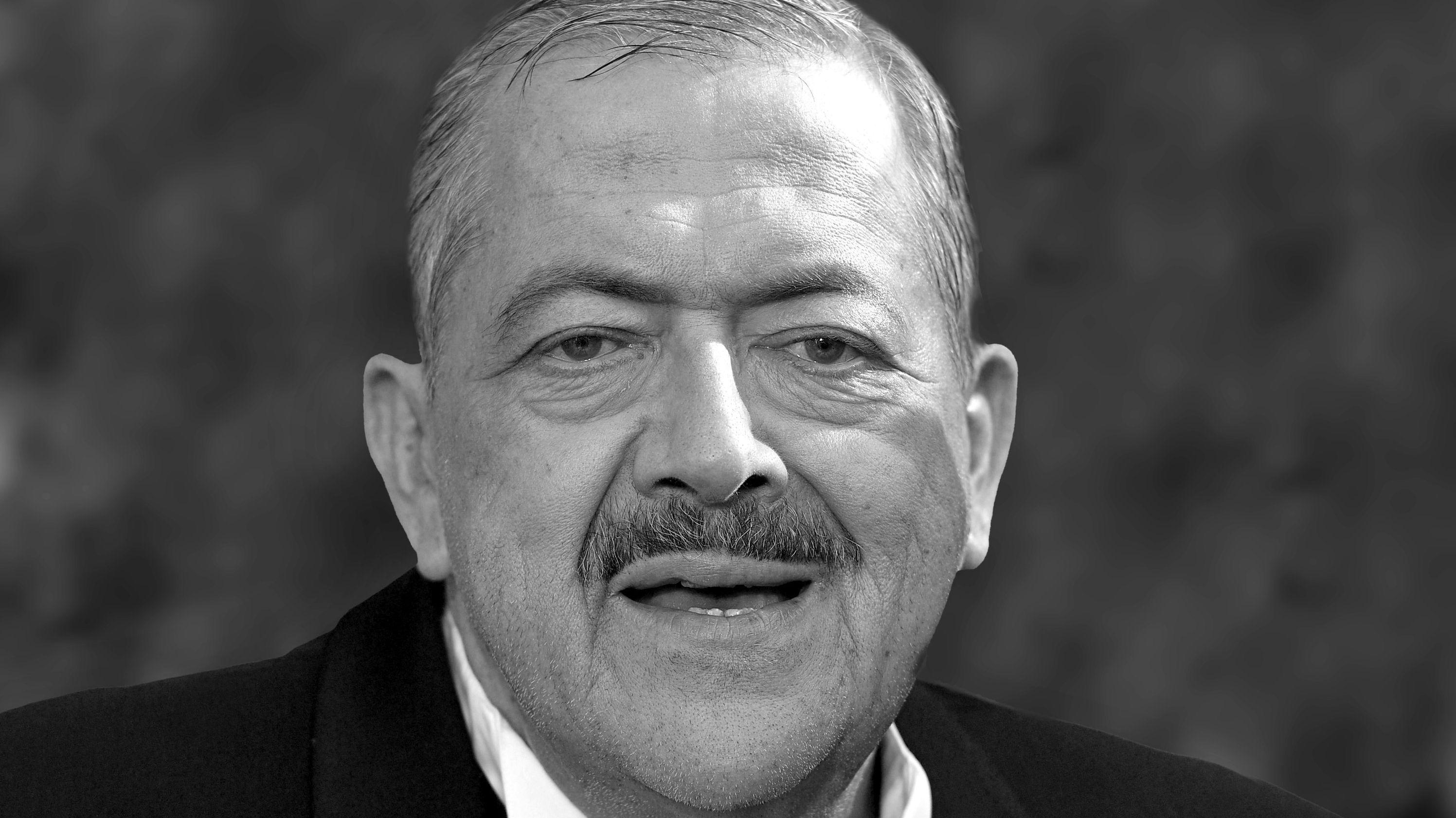 Porträt des Schauspielers Joseph Hannesschläger, der am 20. Januar gestorben ist.