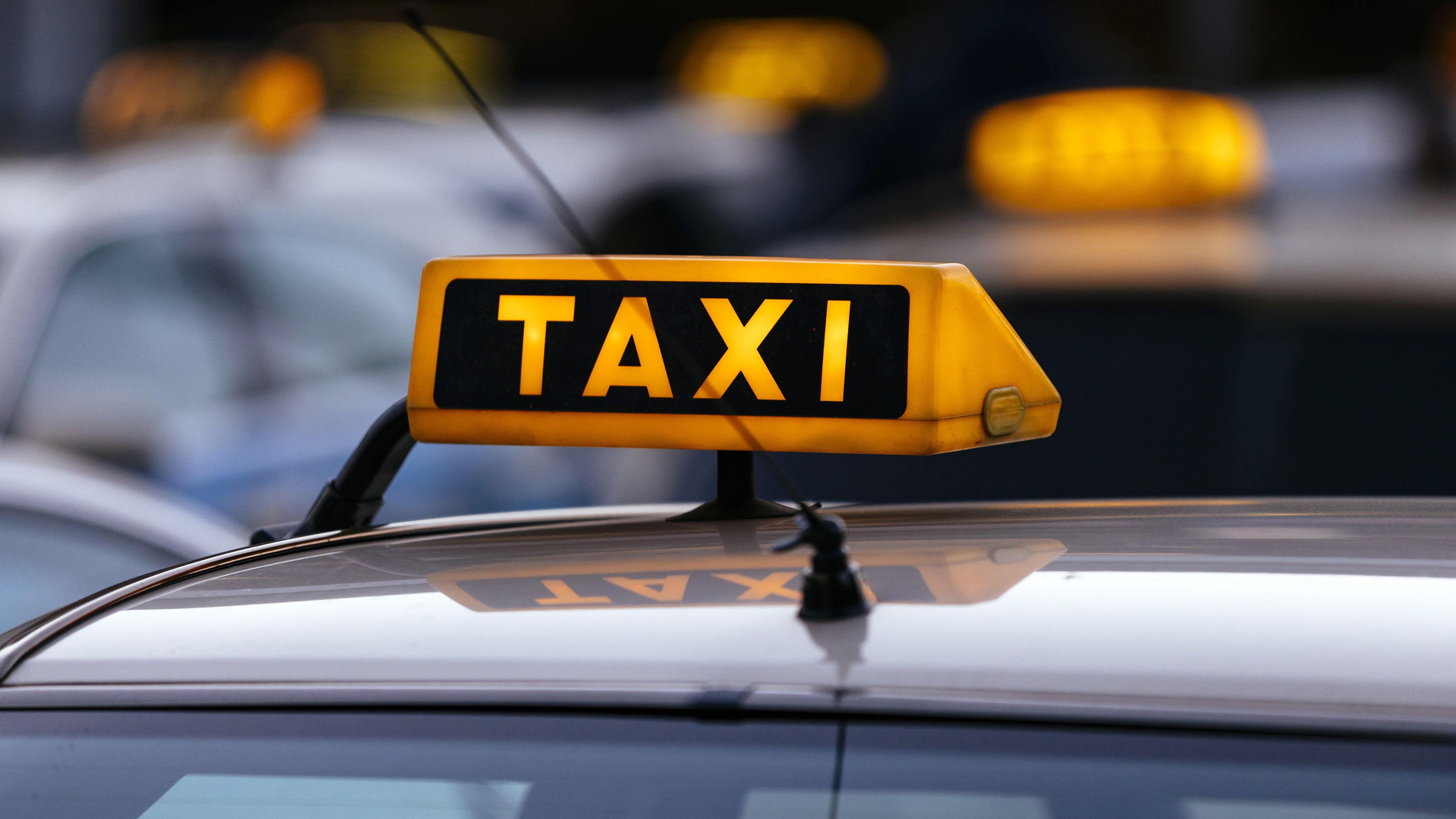 Taxi-Autos (Symbolfoto)