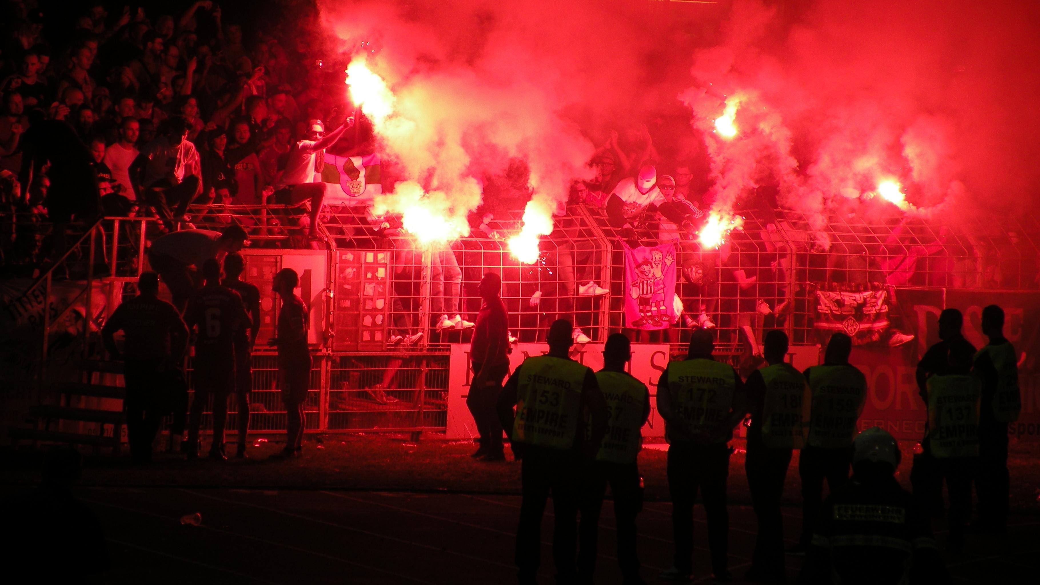 Toto-Pokal: Begegnung FC Schweinfurt 05 - FC Würzburger Kickers