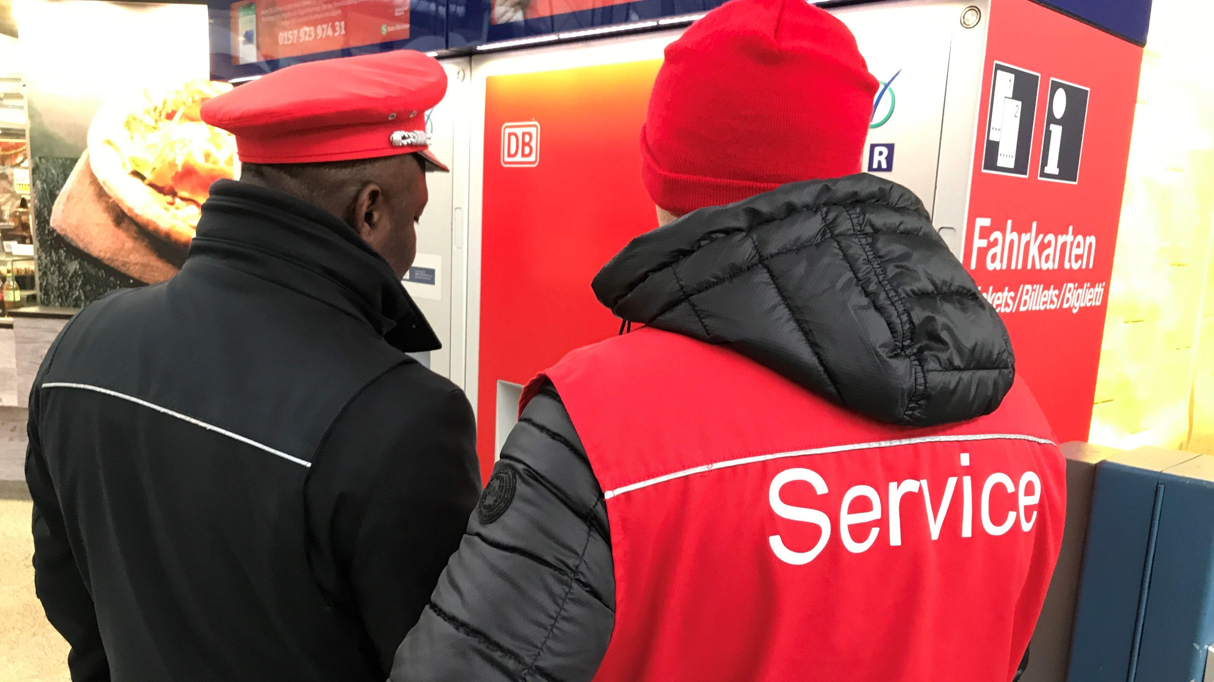 Ticket-Automaten der Bahn bundesweit gestört