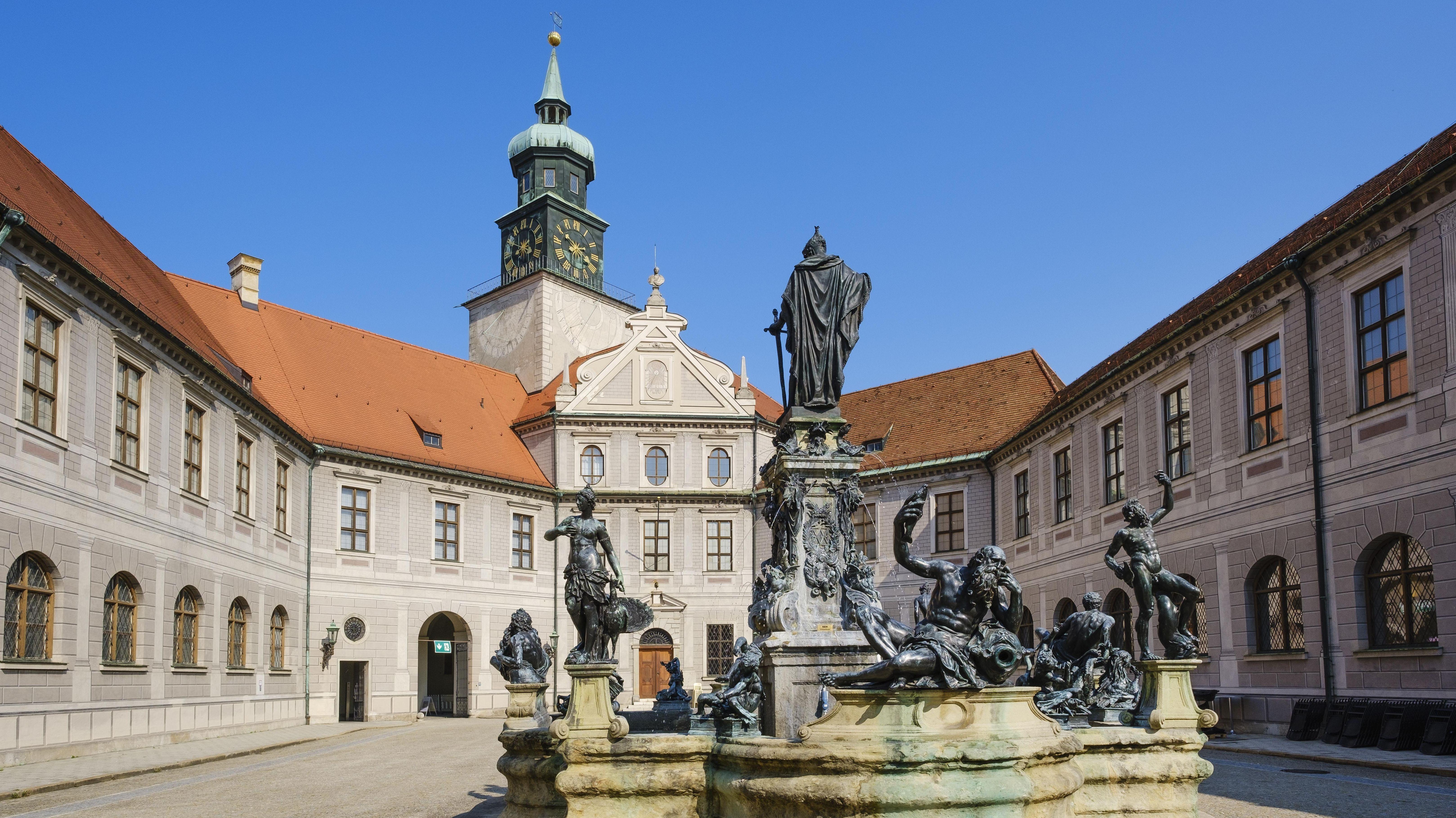 Brunnenhof in der Münchner Residenz