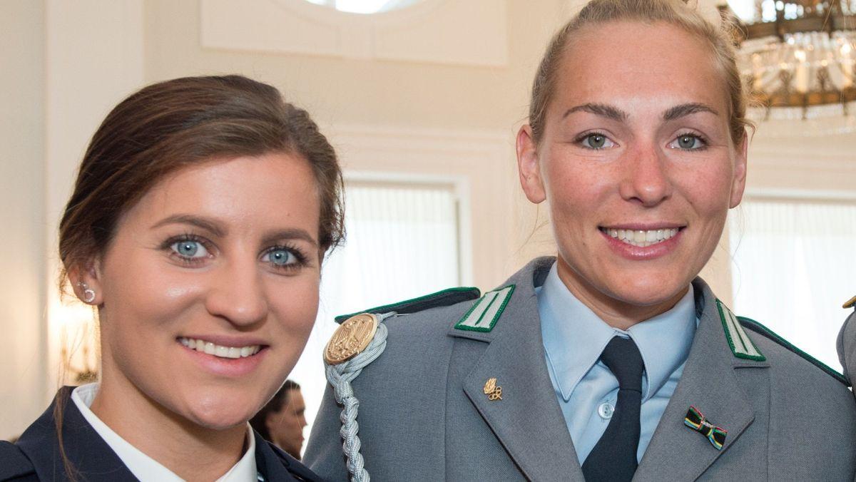 Ramona Hofmeister (links) und Selina Jörg (Archivbild)