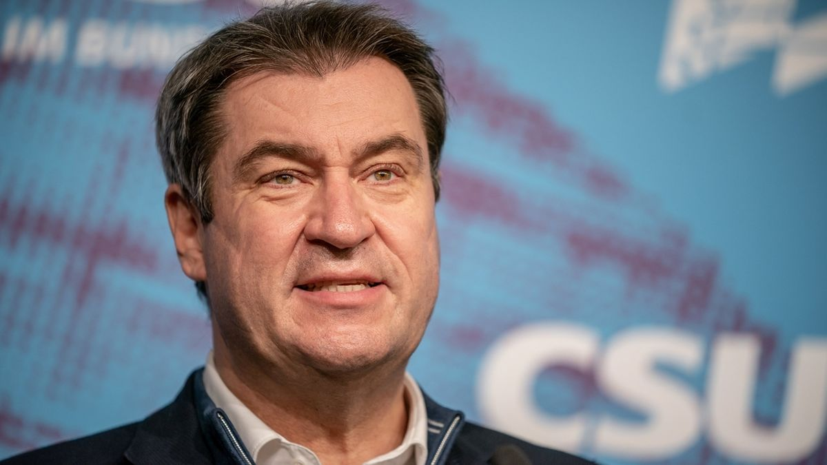 CSU-Vorsitzender Markus Söder
