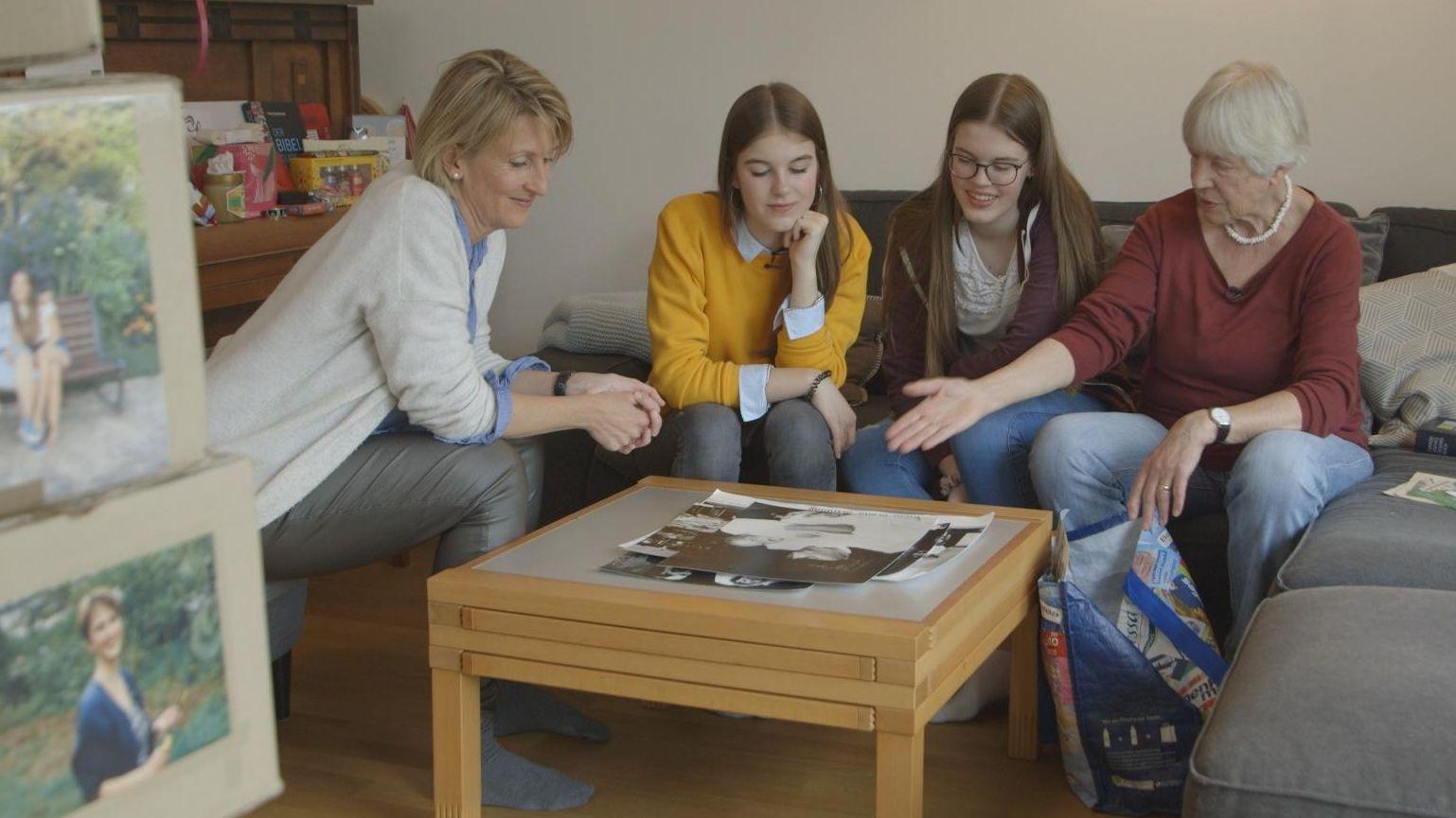 Vier Frauen, drei Generationen