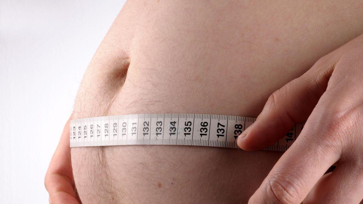 Symbolbild: Übergewicht.