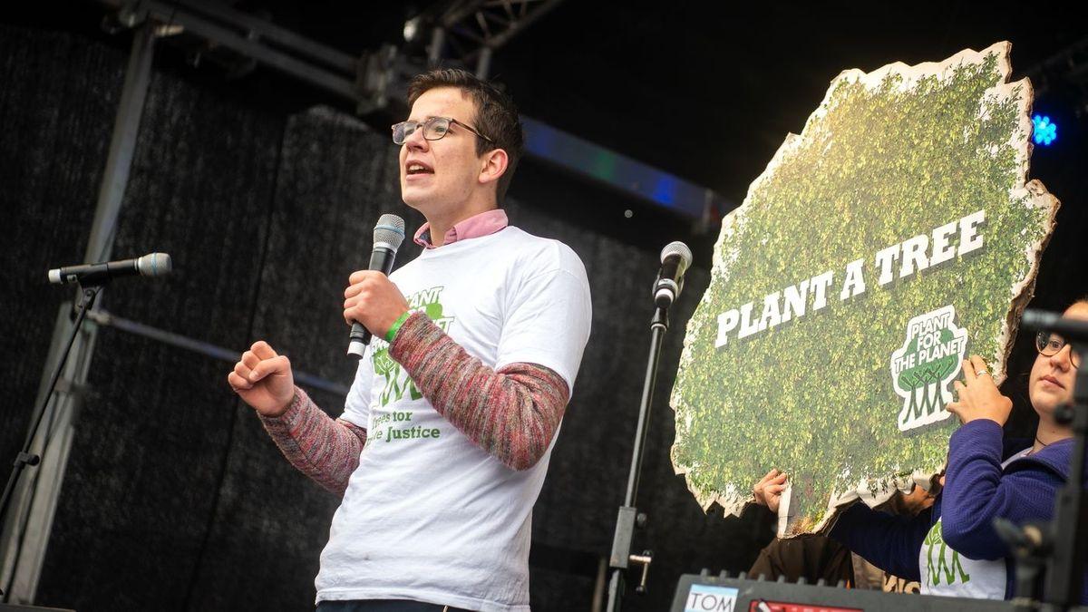 Plant for the Planet-Gründer Felix Finkbeiner