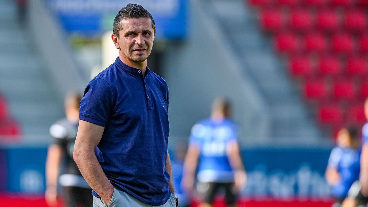 Jahn Regensburg-Trainer Mersad Selimbegović