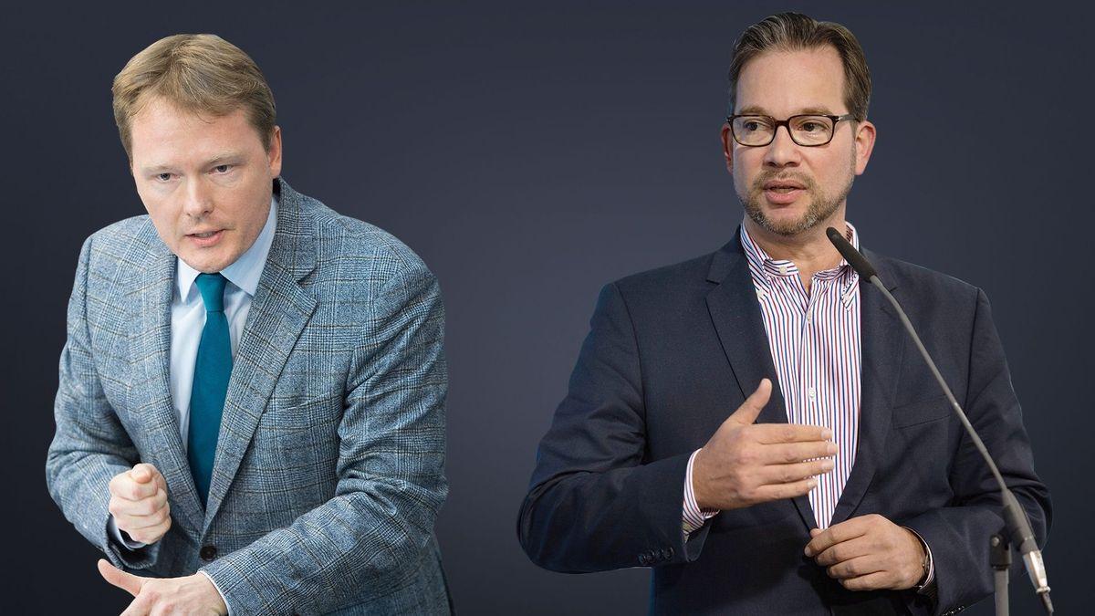 Die SPD-Politiker Christian Flisek und Florian Pronold