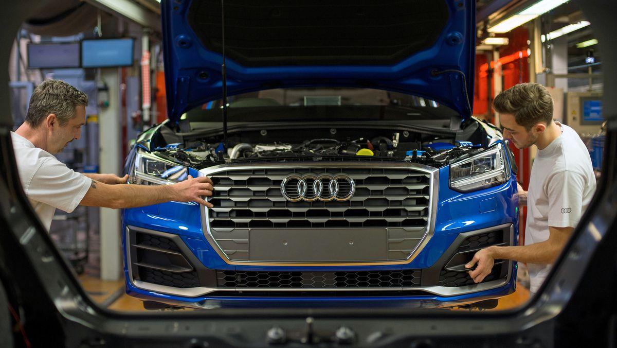 Kfz-Produktion bei Audi