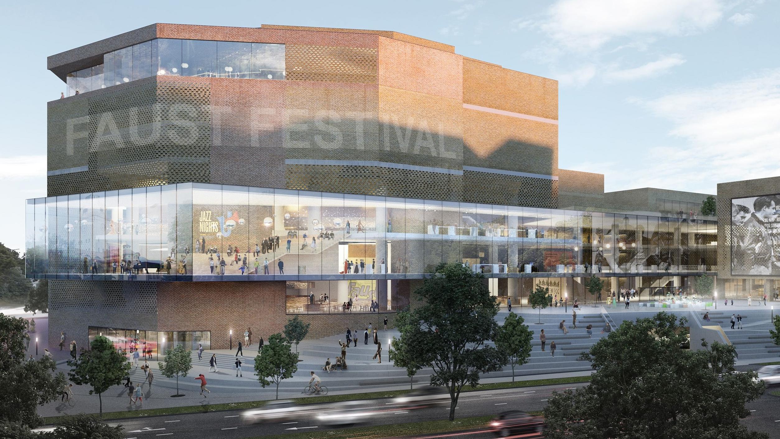 Die Sanierung des Münchner Gasteig nach dem Entwurf des Münchner Architekturbüros Henn