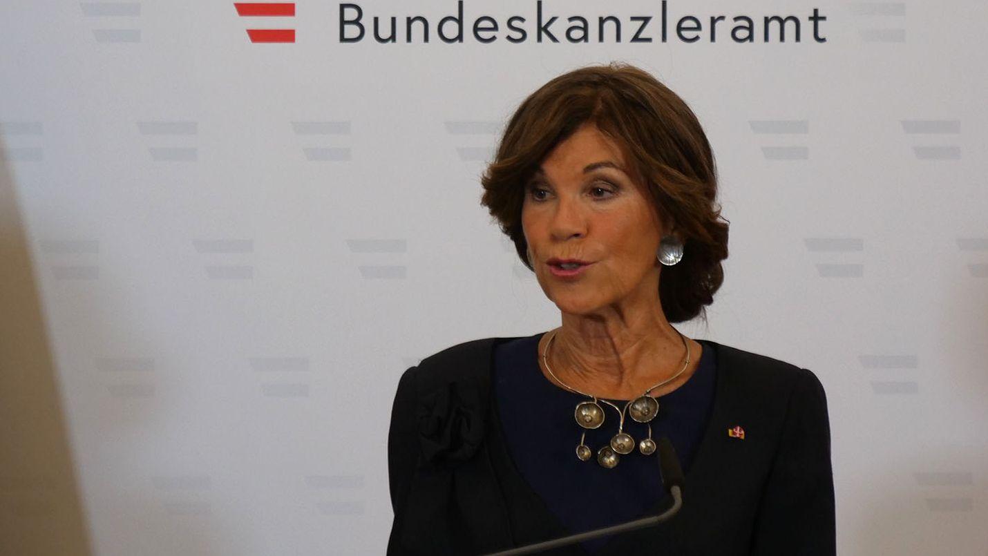 Die Präsidentin des Verfassungsgerichtshofs Brigitte Bierlein