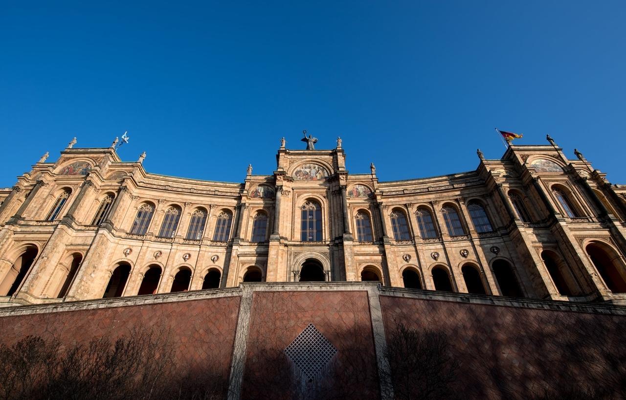 Das Maximilianeum, der bayerische Landtag.