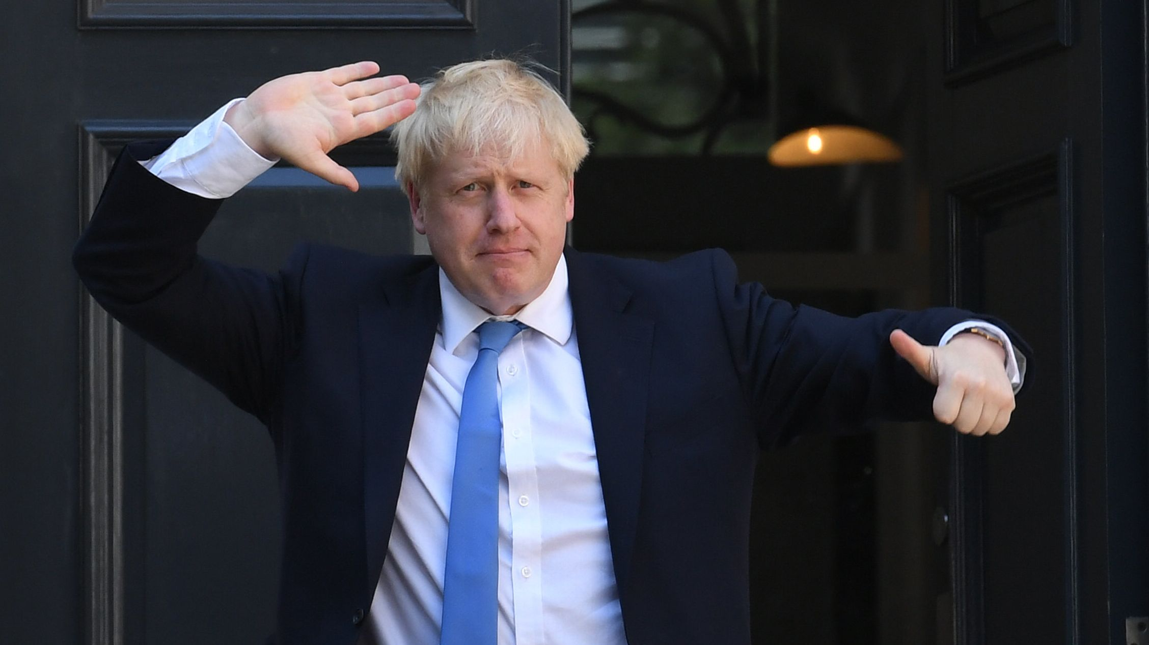 Boris Johnson, neue  Premierminister von Großbritannien