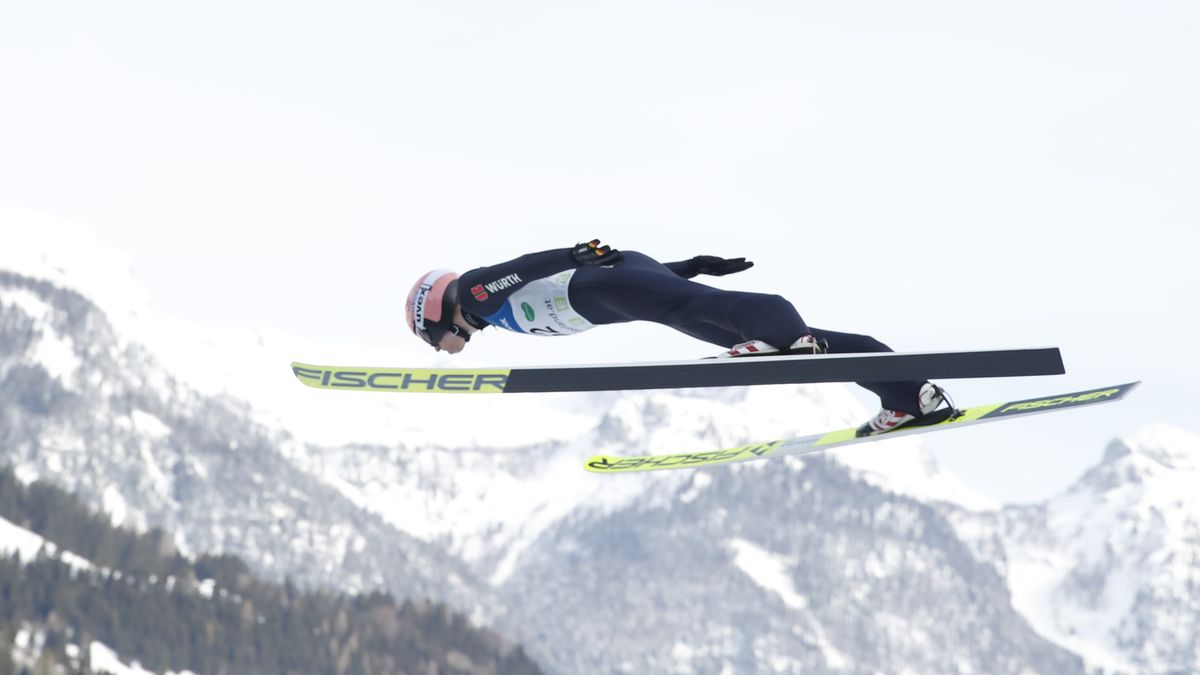 Skispringer Karl Geiger