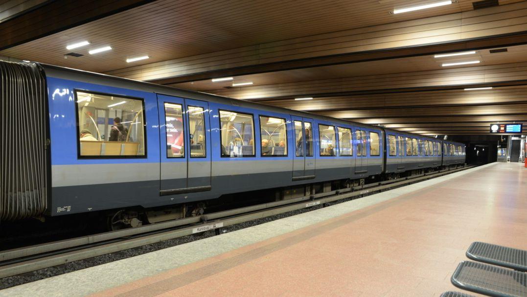 U-Bahnstation in München (Symbolbild)