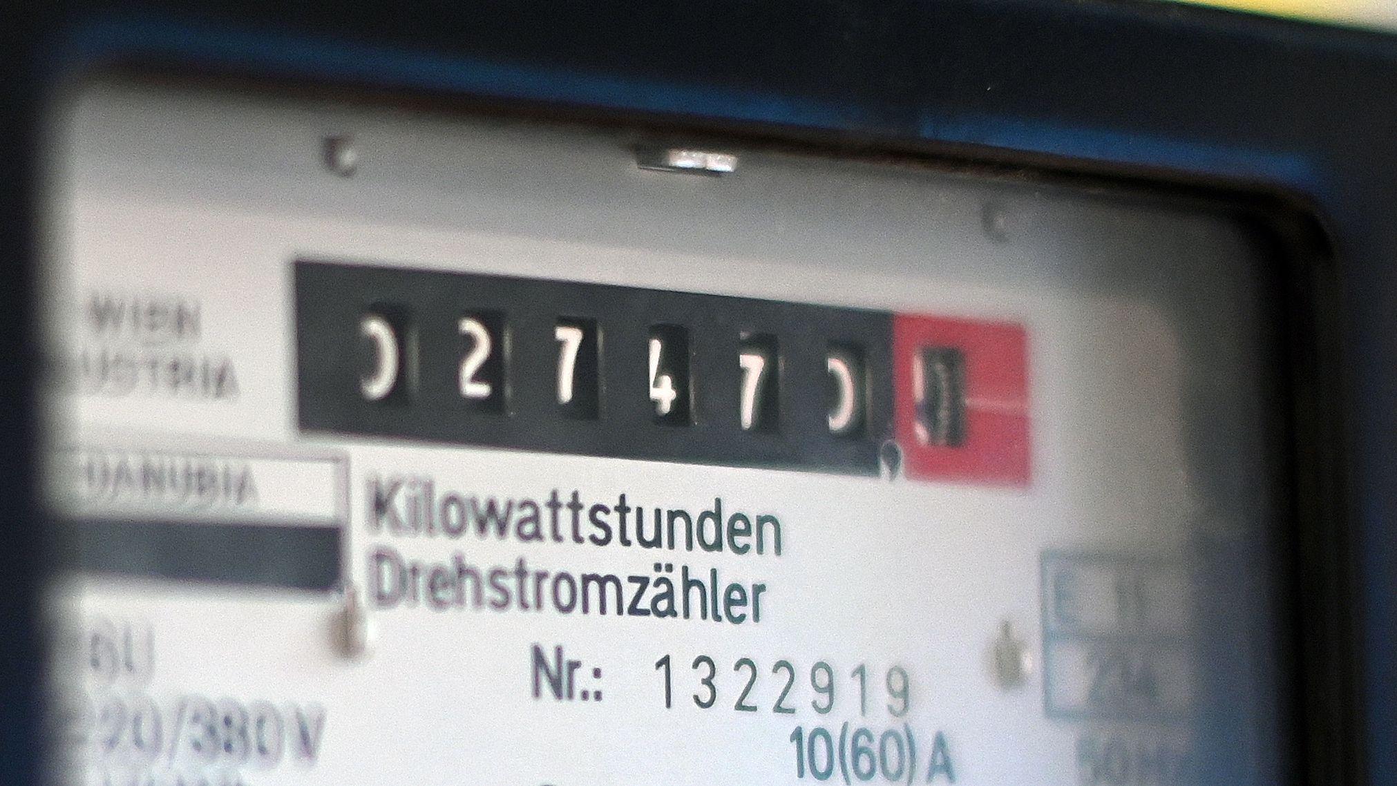 Stromzähler (Symbolbild)