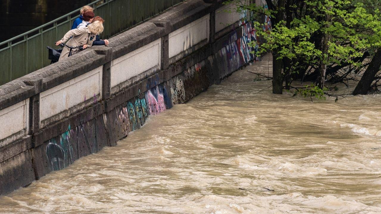 Hochwasser in München