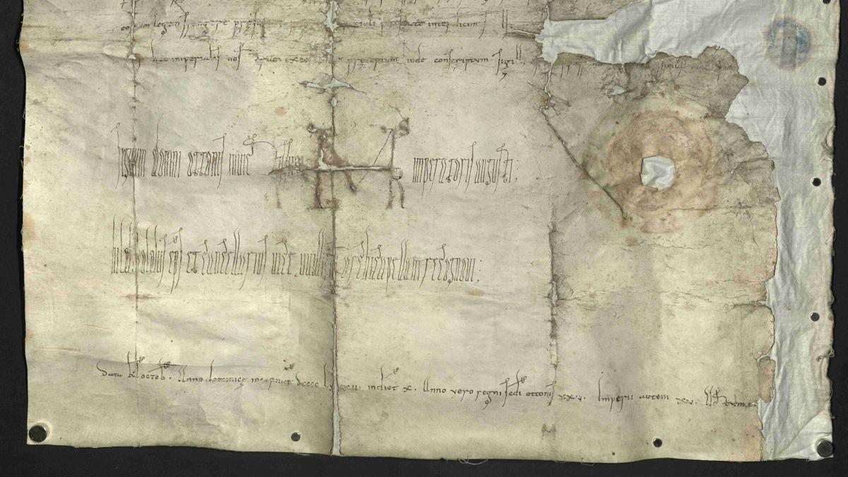 Die lange verschollen geglaubte Urkunde von 982