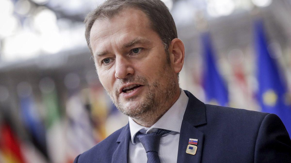 Igor Matovič, Ministerpräsident der Slowakei