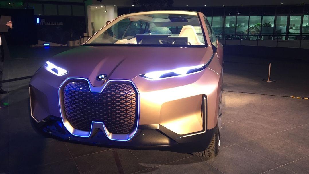 Das BMW Elektroauto iNext.