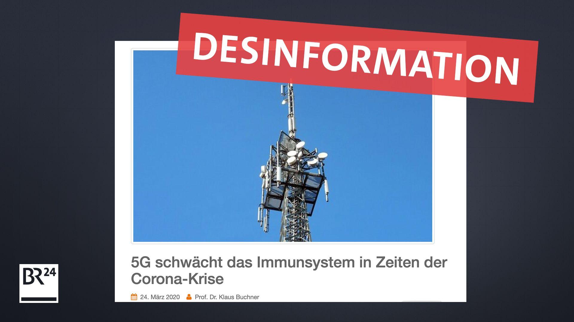 ÖDP-Europaabgeordneter verbreitet Desinformation zu 5G und Corona