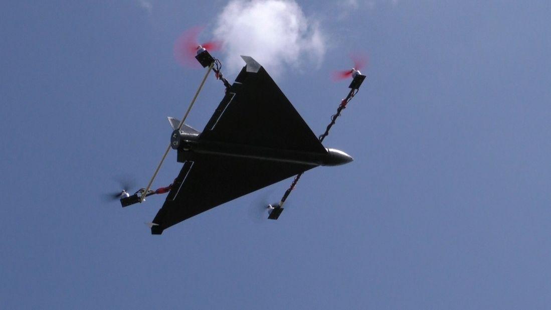 Uni Augsburg testet Raketendrohnen