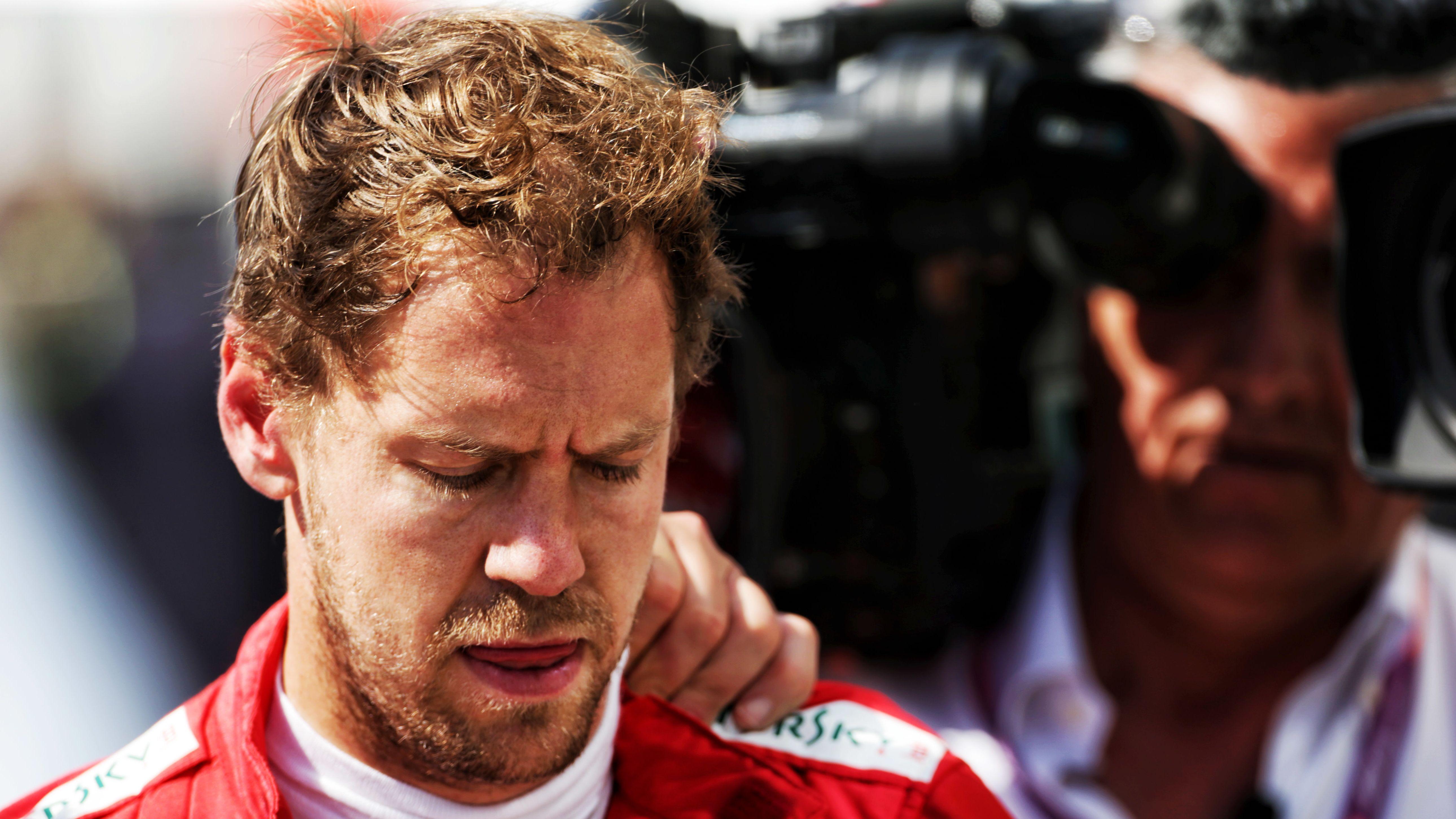 Sebastian Vettel wurde nur Zweiter.