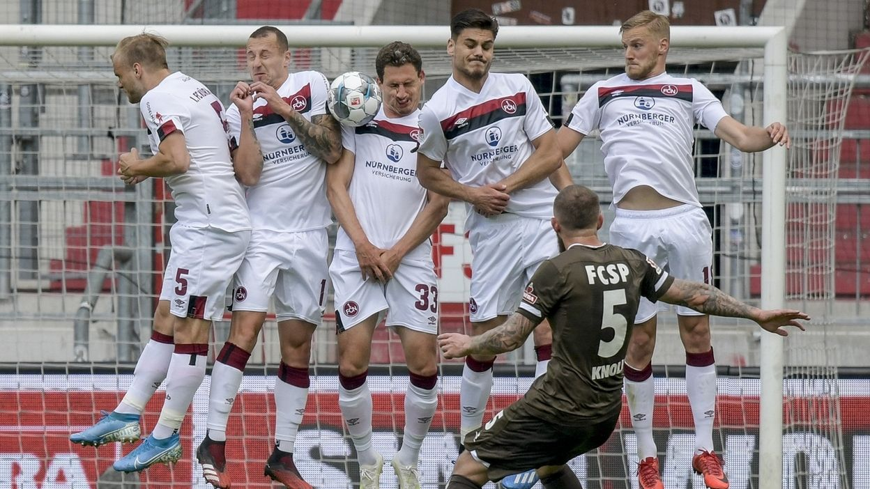 FC St. Pauli - 1. FC Nürnberg