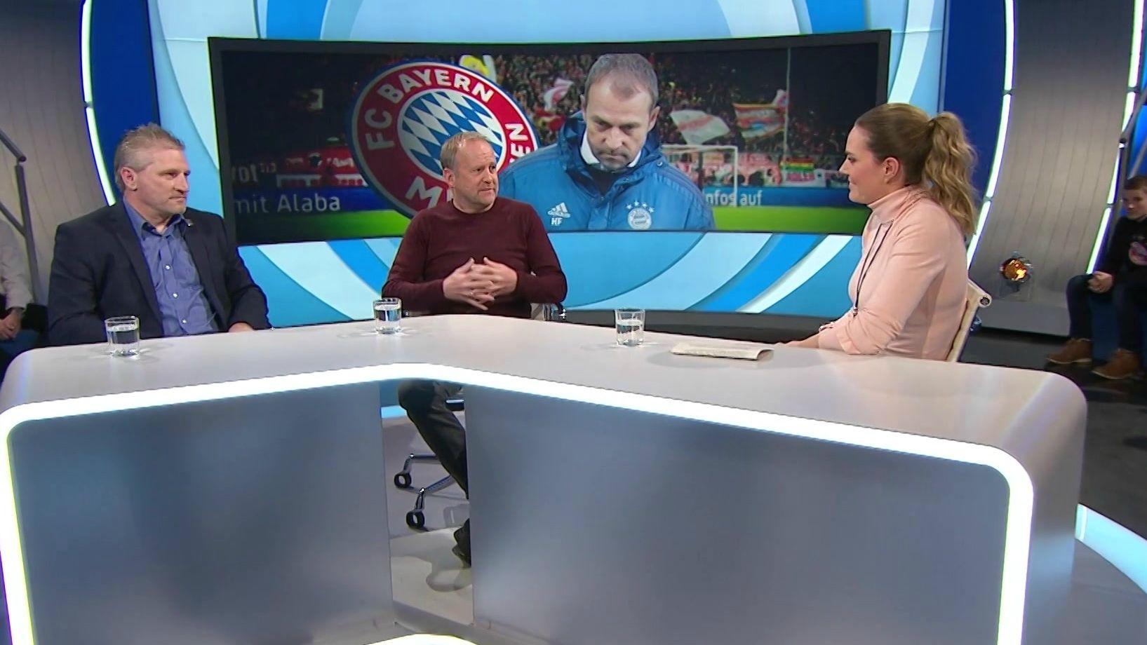 Die ehemaligen Bayernprofis Thomas Kastenmaier und Hans Dorfner zu Gast bei Blickpunkt Sport