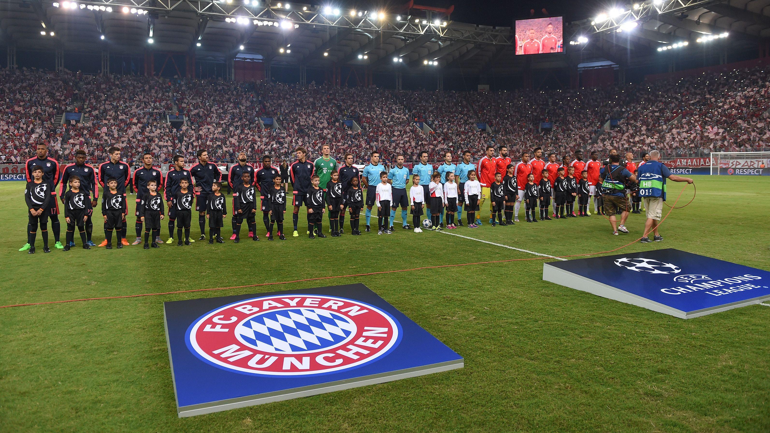 Olympiakos Piräus - FC Bayern München: Vor dem Champions-League-Spiel in Piräus 2015
