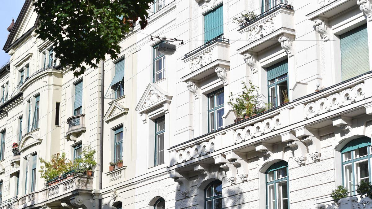 Altbauwohnungen im Stadtteil Lehel in München