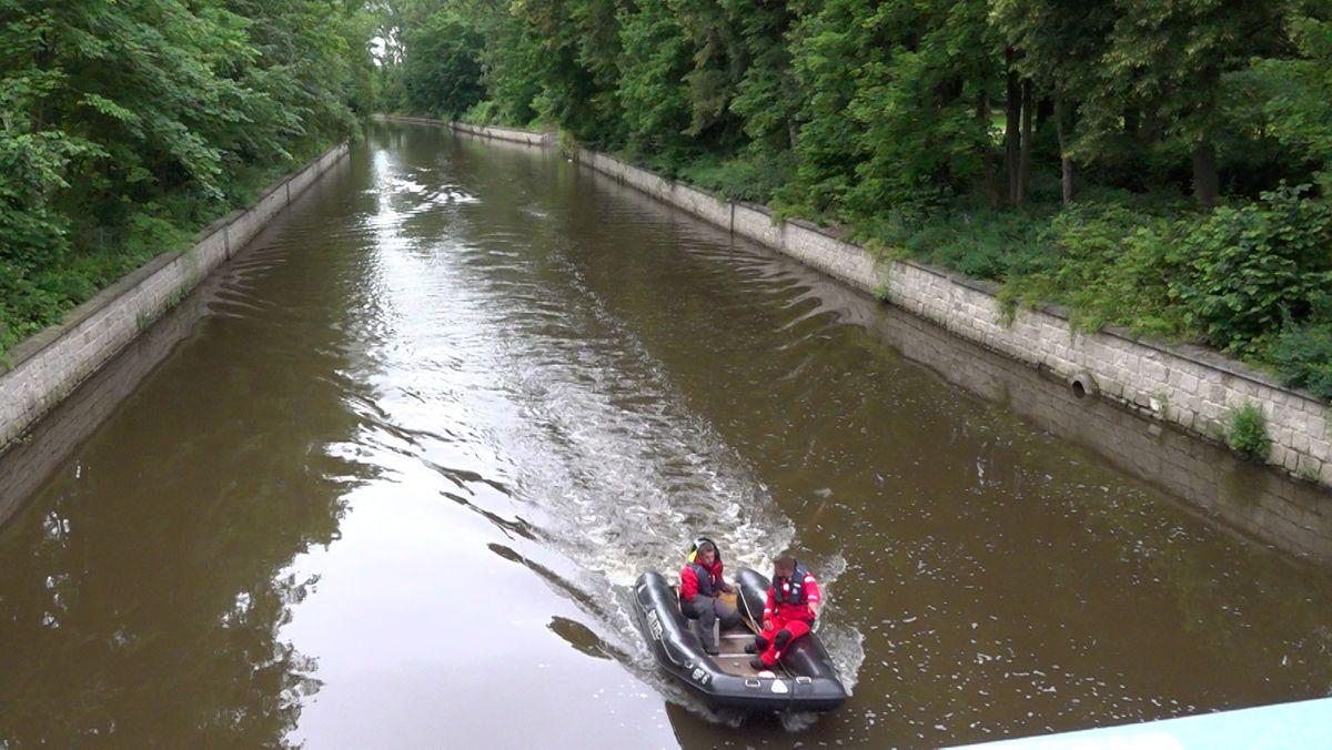 Flutkanal in Weiden